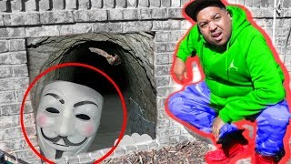 We Found CLUE MASTER Living Under Our HOUSE in Top Secret Hidden Tunnel to Spy! - Onyx Family
