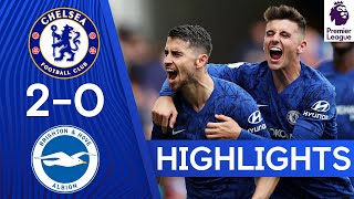 Chelsea 2-0 Brighton | Lampard Leads Chelsea to First Home Victory This Season! | Highlights