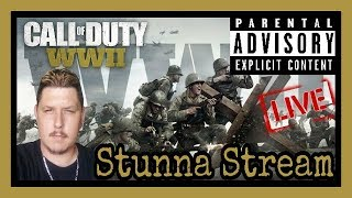Call Of Duty WWII! New DLC Shadow War Maps! WE OUT HERE! ( Call Of Duty WW2 Live Stream )