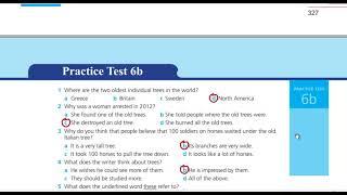 اجابات work book practice test 6 b الثالث الثانوي