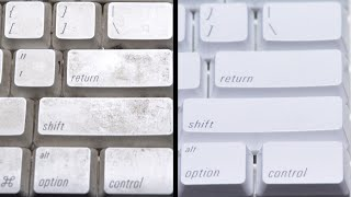 Dirty Keyboard Cleaning (ASMR)