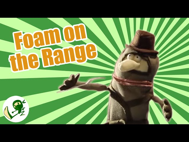 Foam on the Range:  A Serious Cowboy Song - Green Ninja Show