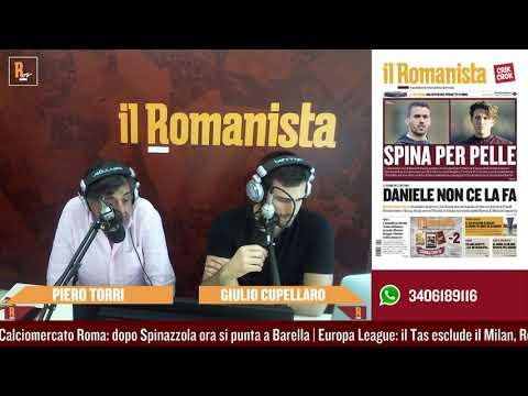 VIDEO - Da Barella a Higuain: le ultime sul mercato della Roma con Piero Torri