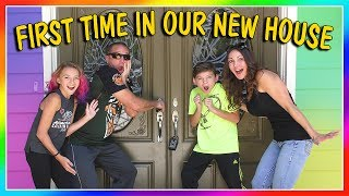 FIRST TIME SEEING OUR NEW HOUSE! | EMPTY HOUSE TOUR | We Are The Davises