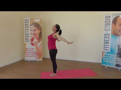 10' Yoga am Morgen mit Astrid für Fortgeschrittene