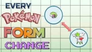 Every Pokémon Form Change Ever