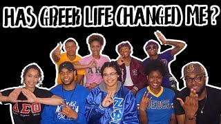 HAS GREEK LIFE CHANGED ME?   NPHC PANEL