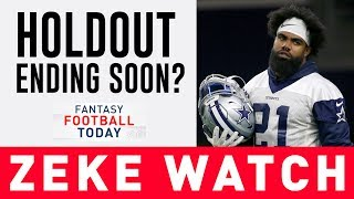 Zeke reportedly has an offer to become 2nd HIGHEST PAID RB | Fantasy Football analysis