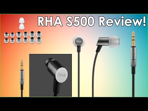 video RHA S500 Earbuds: A Complete Review