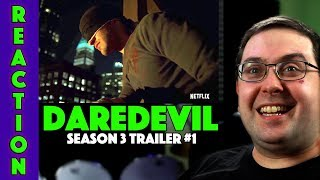 REACTION! Daredevil Season3 Trailer #1 - Charlie Cox Marvel Netflix Series 2018