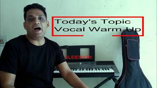 Best Vocal warm up exercise in Hindi