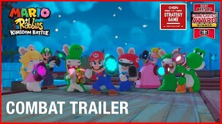 Mario + Rabbids Kingdom Battle: Combat | Gameplay Trailer | Ubisoft [NA]