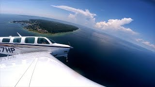 You Can Only Do This With An Airplane - Flying to Mackinac Island