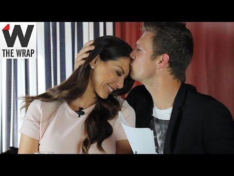 Nick Carter Tests Wife's Knowledge of Backstreet Boys' Songs in TheWrap's Quiz