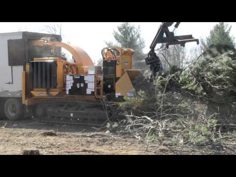 Bandit Whole Tree Chipper Model 2290 Track