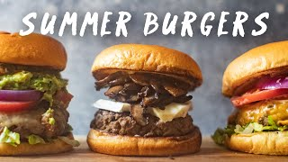 JUICY SUMMER BURGER Recipes for your Memorial Day Weekend 🍔🍔🍔| HONEYSUCKLE