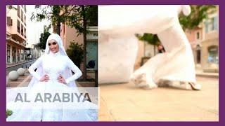 Beirut blast sweeps away bride posing for wedding day in Lebanon