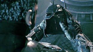 BATMAN DEATH Scene 100% Full Secret Ending Knightfall Protocol (Batman Arkham Knight)