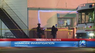 Homicide in Portsmouth at Cock Island Bar & Grille