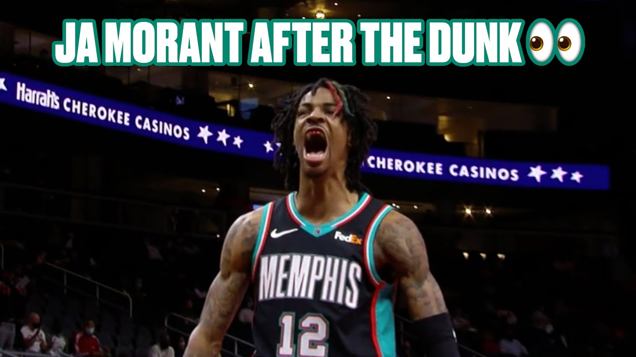 Ja Morant Throws Down Nasty Off-The-Glass Alley-Oop Dunk