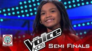 "The Voice Kids Philippines 2015 Semi Finals Performance: ""Flashlight"" by Zephanie"