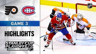 NHL Highlights | First Round, Gm3: Flyers @ Canadiens - Aug. 16, 2020