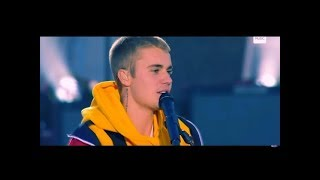 Justin Bieber - Emotional Performance Love Yourself (Live From One Love Manchester Ariana Grande)