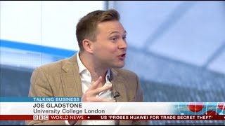 The Pain of Paying - BBC World News - Dr Joe Gladstone on Talking Business