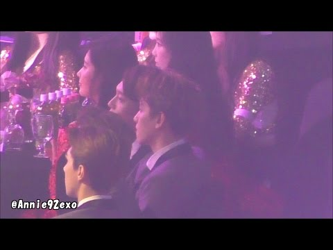 150122 45 during Apink 에이핑크 Mr. Chu 미스터 츄 EXO Baekhyun @ SMA 서울가요대상 artists seat