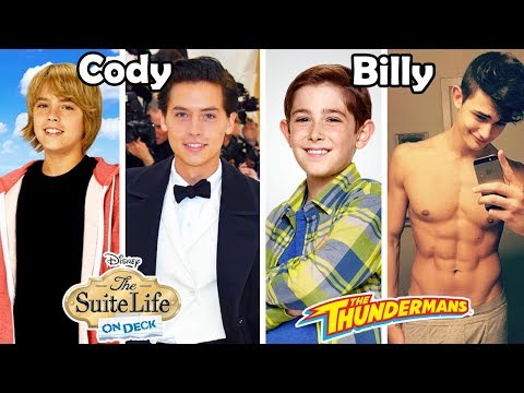 Disney Channel and Nickelodeon Famous Guys Before and After 2018 [Then and Now]