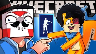 SHOWING HATS, EMOTES & NEW MOBS ON MINECRAFT! - (Temporary Truce With Squirrel) Ep. 24!