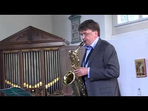 FANTASIE Nr 2 Georg Philipp Telemann. Niels Bijl - Bariton Saxofoon