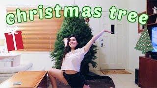 WE GOT A CHRISTMAS TREE // Vlogmas Day 6!!!