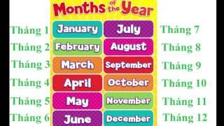 Cách Đọc Các Tháng Bằng Tiếng Anh