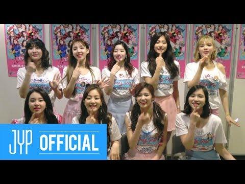 TWICE JAPAN 1st SINGLE & 2nd SINGLE RELEASE GREETINGS