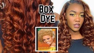 THE PERFECT FALL HAIR COLOR USING BOX DYE 🍂 | AFFORDABLE AMAZON PRIME WIGS | ALI PEARL HAIR