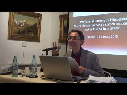 """""""Vent'anni di riforme dell'Università"""" (24.10.2015) - Intervento di Salvatore Ferrari"""