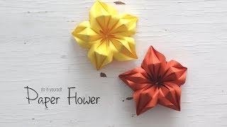 DIY Paper Flower | Paper Craft | Handcraft