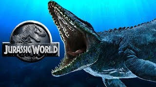 How The Mosasaurus Attack Scene Was Originally Supposed To Be In Jurassic World