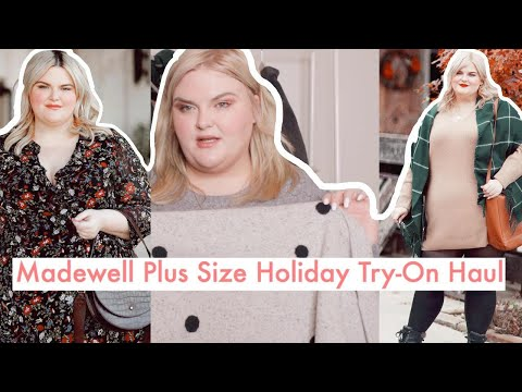 Madewell Plus Size Try-On Haul | Holiday Gifting Ideas