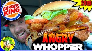 Burger King® | ANGRY Whopper® 2019 Review 😡🔥🍔 | Peep THIS Out! 🍔👑