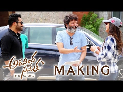 Aravindha-Sametha-Movie-Making