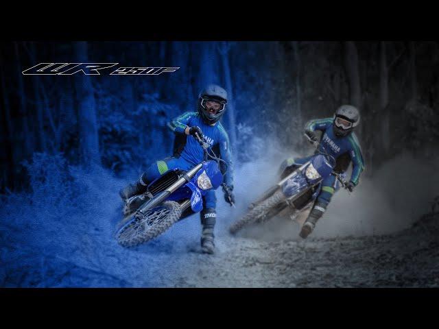 Présentaiton de la nouvelle Yamaha WR250F  2022