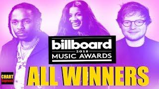 BBMA's 2018 - ALL WINNERS | Billboard Music Awards 2018 | May 20, 2018 | ChartExpress