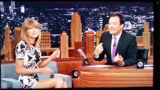 Jimmy Fallon talks too much, called out by - Taylor Swift