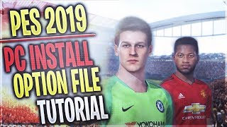 [TTB] PES 2019 - PC Option File Tutorial - How to Install Every Licensed Team & More!