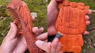 Innovation comes from bamboo and wood! Guy with great ideas ! Part 6