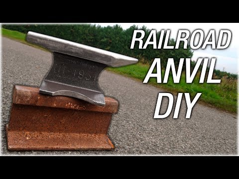 DIY Railroad Track Anvil