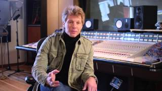 "Jon Bon Jovi discusses ""Because We Can"" new Bon Jovi single"