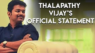 OFFICIAL: Thalapathy VIJAY Opens Up First time About Mersal Issue & Success   TK 542